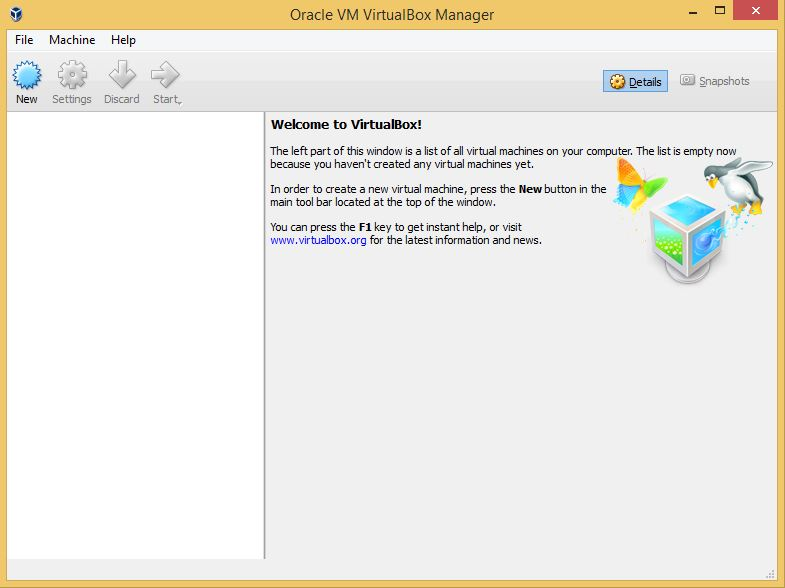 VirtualBox Program