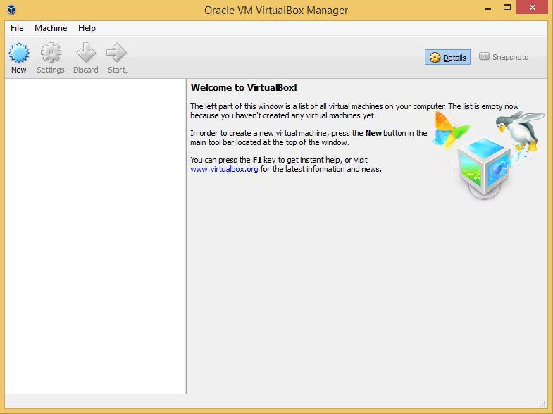 VirtualBox Program