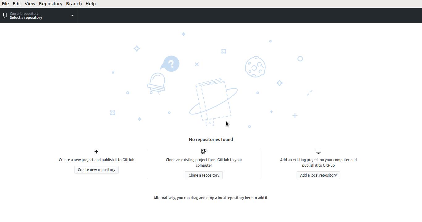 Github Desktop Logged In