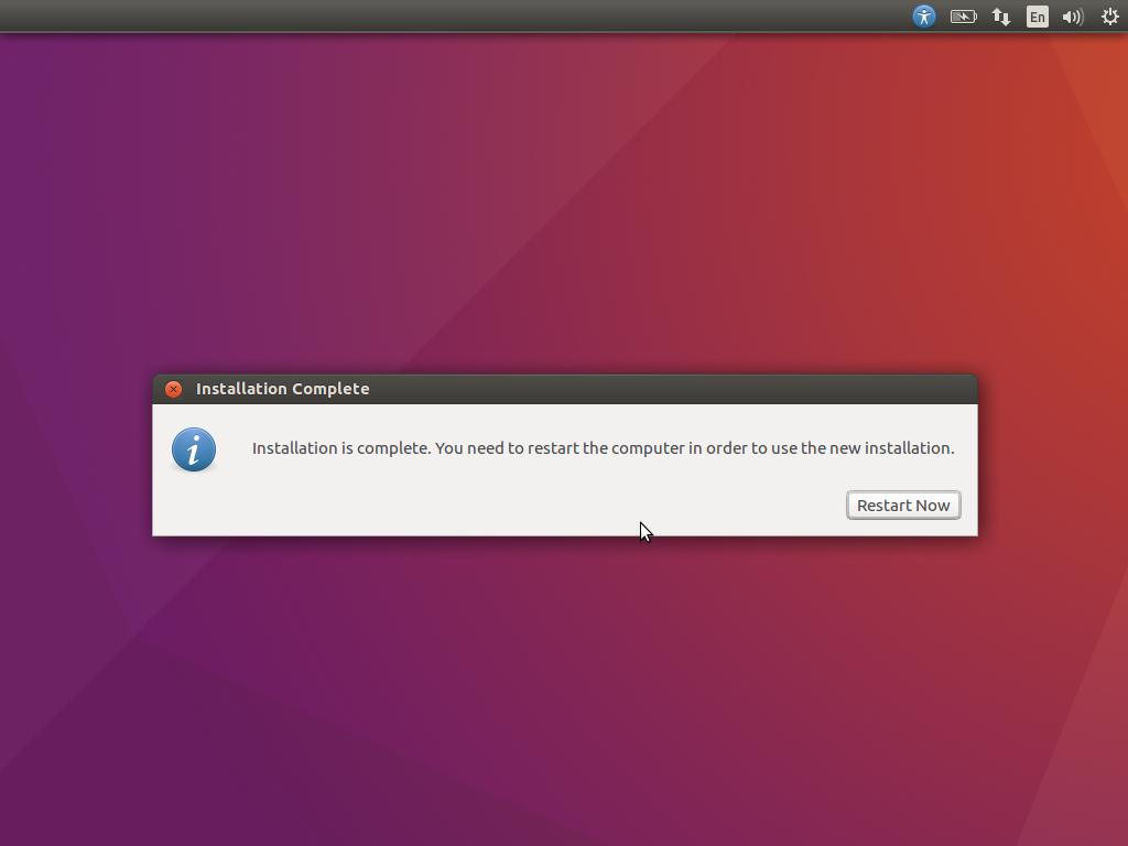 Ubuntu Restart