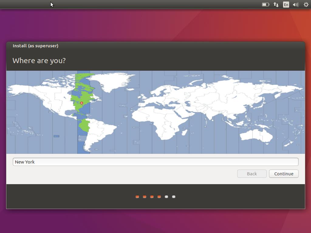 Ubuntu Timezone