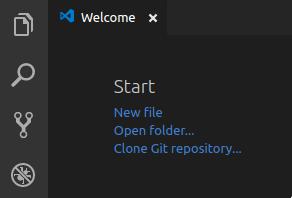 VSCode Open Folder