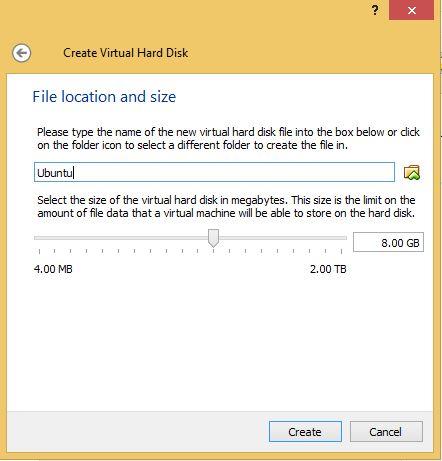 VirtualBox Hard Drive Location